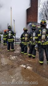 Structure Fire in Pleasantville